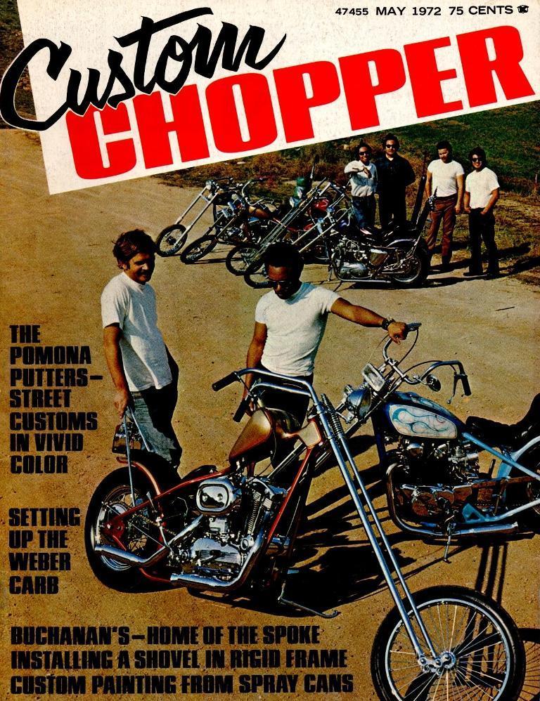 Custom Chopper - 1972 mayo
