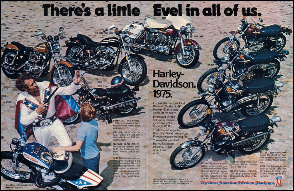 Gama Harley-Davidson de 1975