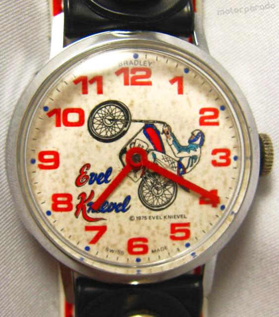 Reloj Evel Knievel