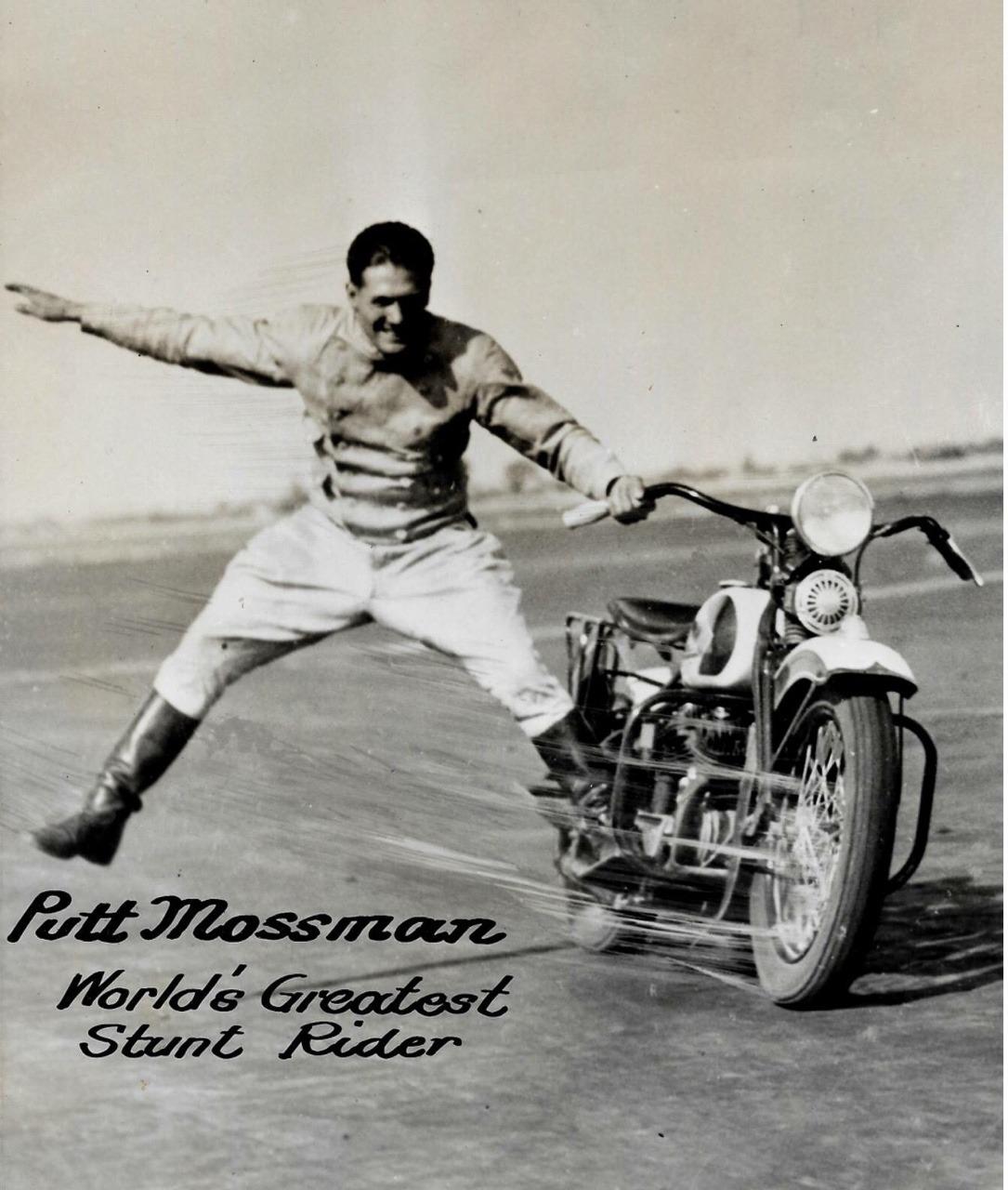 Putt Mossman, famoso acróbata