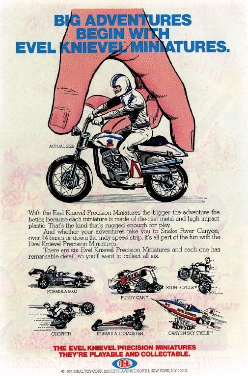 Juguetes Evel Knievel