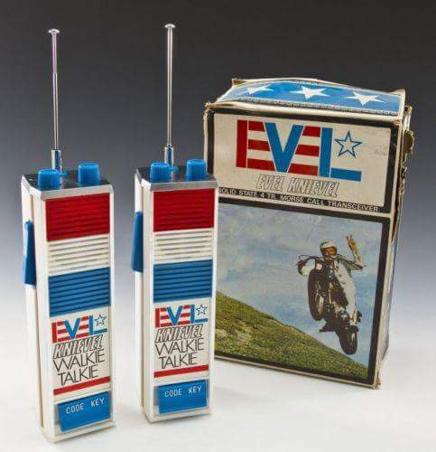 Juguetes Evel Knievel