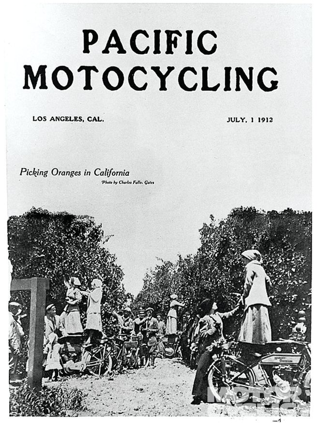 Pacific Motocycling de 1912