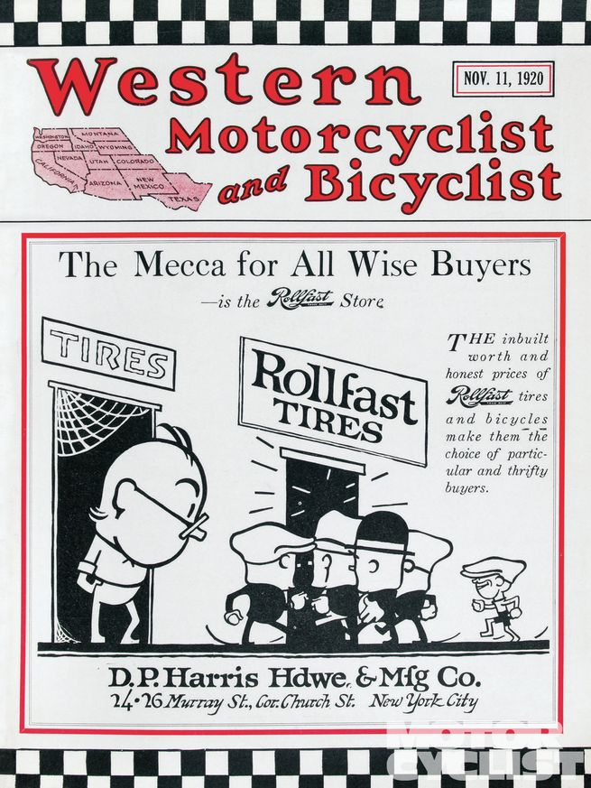 Número de 1920 de Western Motorcyclist and Bicyclist