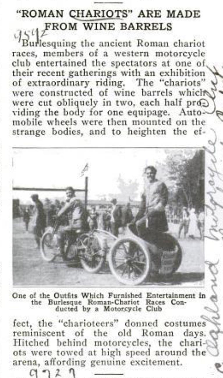 Revista Popular Mechanics de 1922 - septiembre
