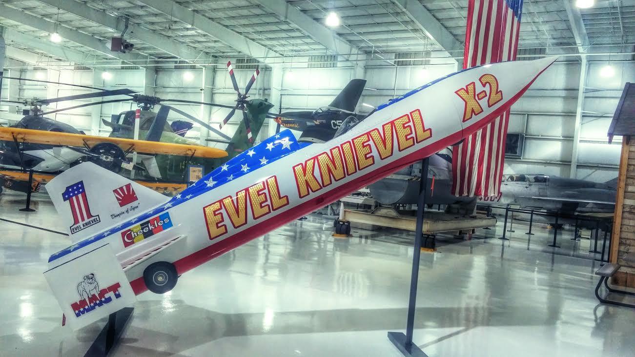 El frustrado Skycycle de Evel Knievel