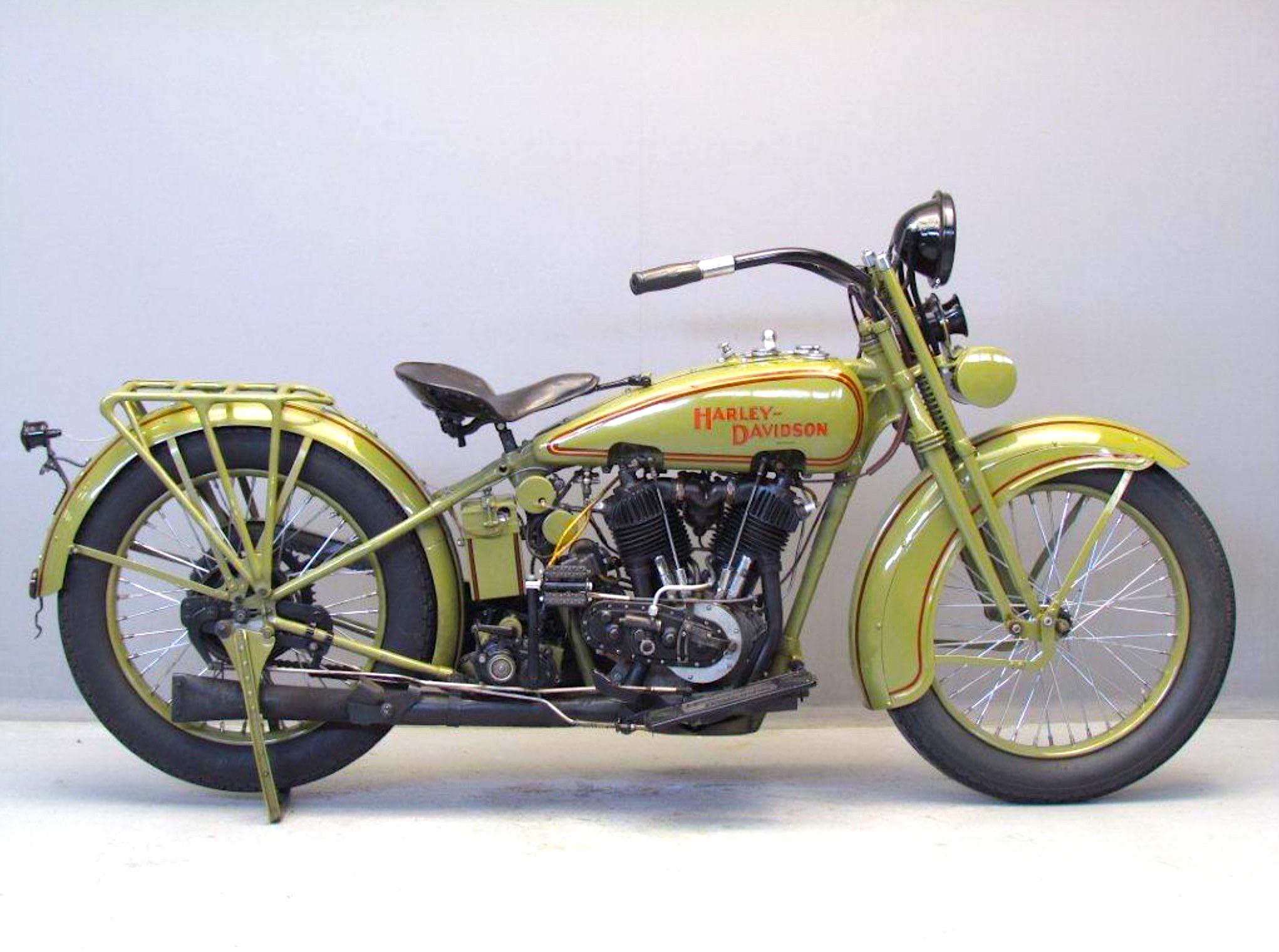 Harley-Davidson modelo 25JDCB de 1925