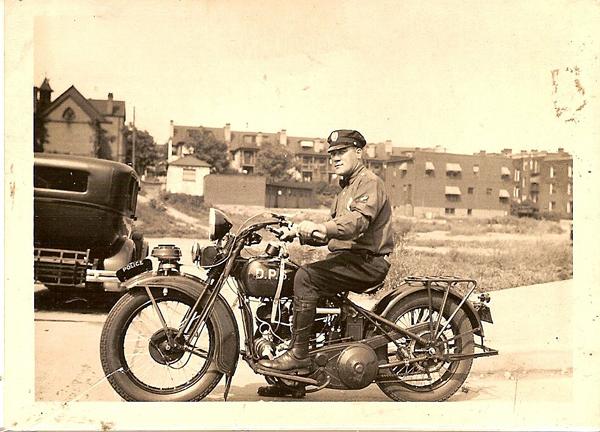 1925 Harley-Davidson JDcb para la Policía