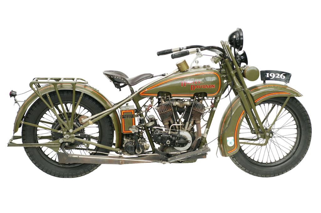 Harley-Davidson modelo JD de 1926