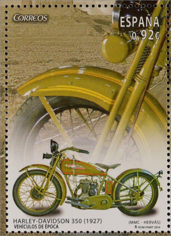 Sello de España - Modelo 35occ de 1927