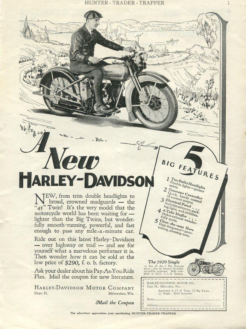 A new Harley-Davidson