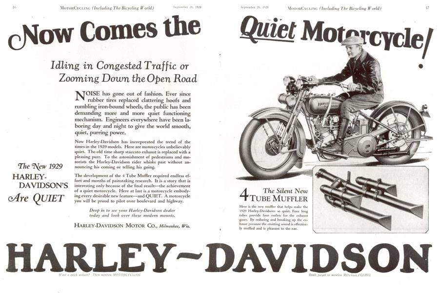 Now comes the quiet motorcycle