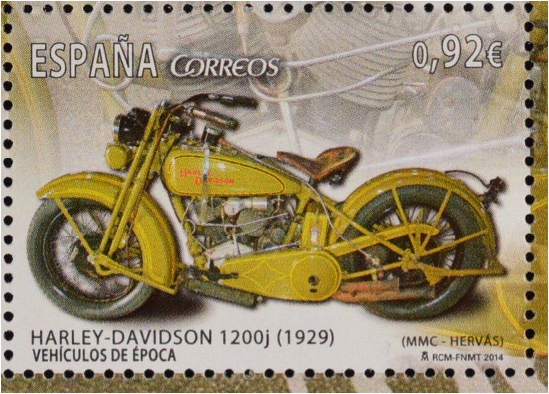 Sello España - Vehículos de época - 1929