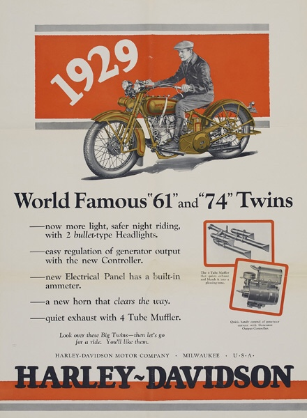 World famous 61 and 74 twins