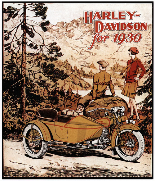 Harley-Davidson for 1930