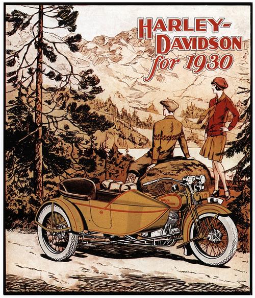 Harley-Davidson for 1930