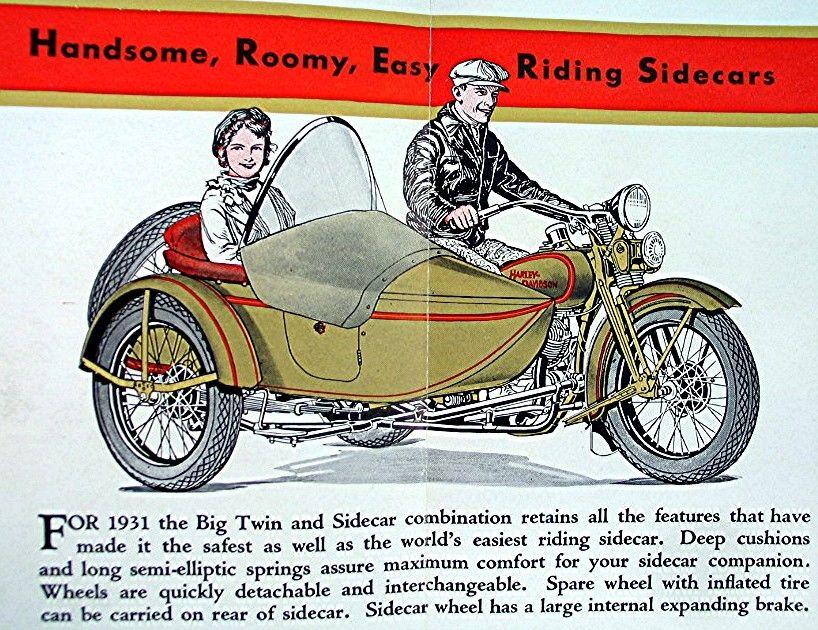 Catalogo 1931 - Sidecars