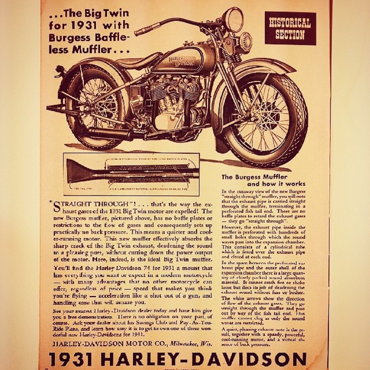 The Big Twin for 1931