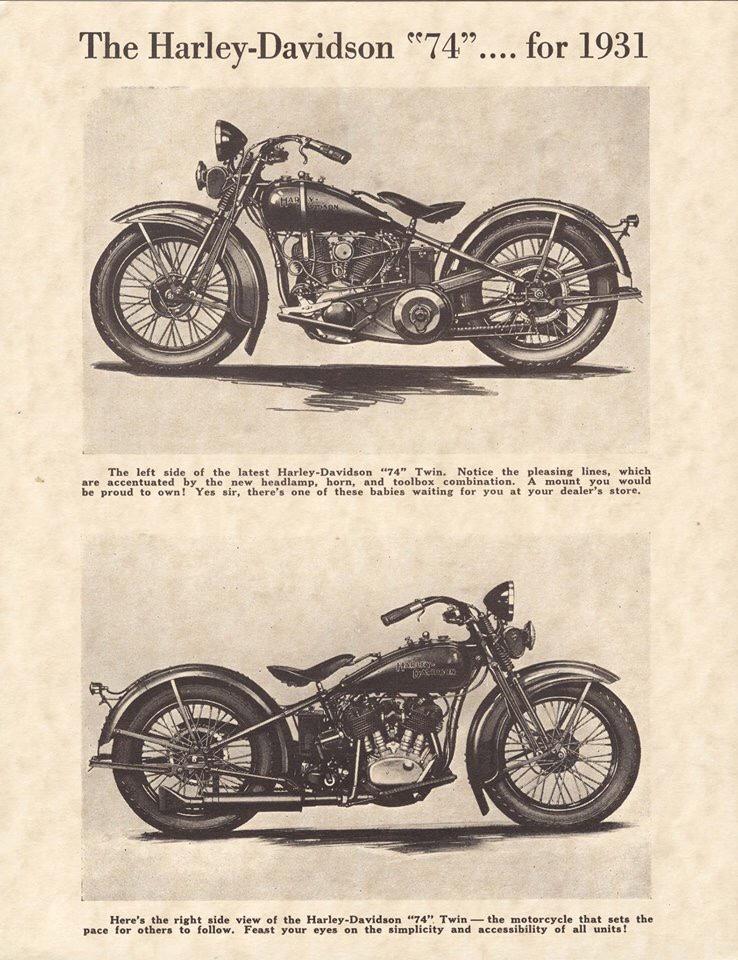 The Harley-Davidson 74