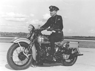 Historia de la policia Harley-Davidson