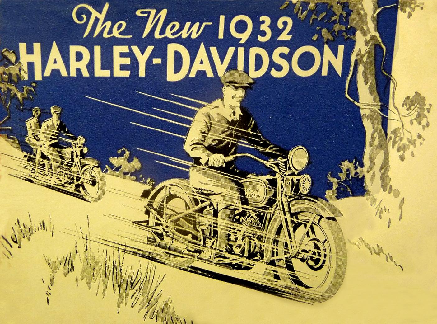 The New 1932 Harley-Davidson