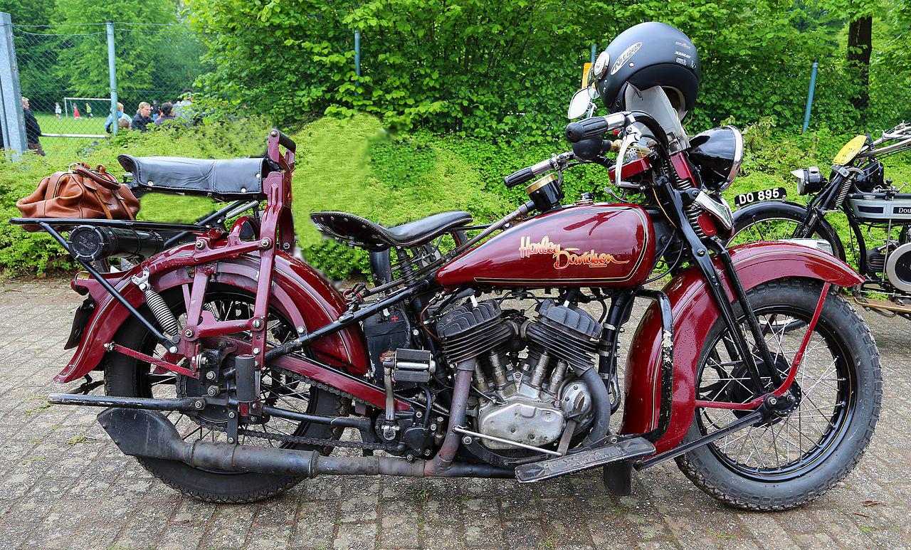 Modelo 36-R de válvulas laterales y 750cc