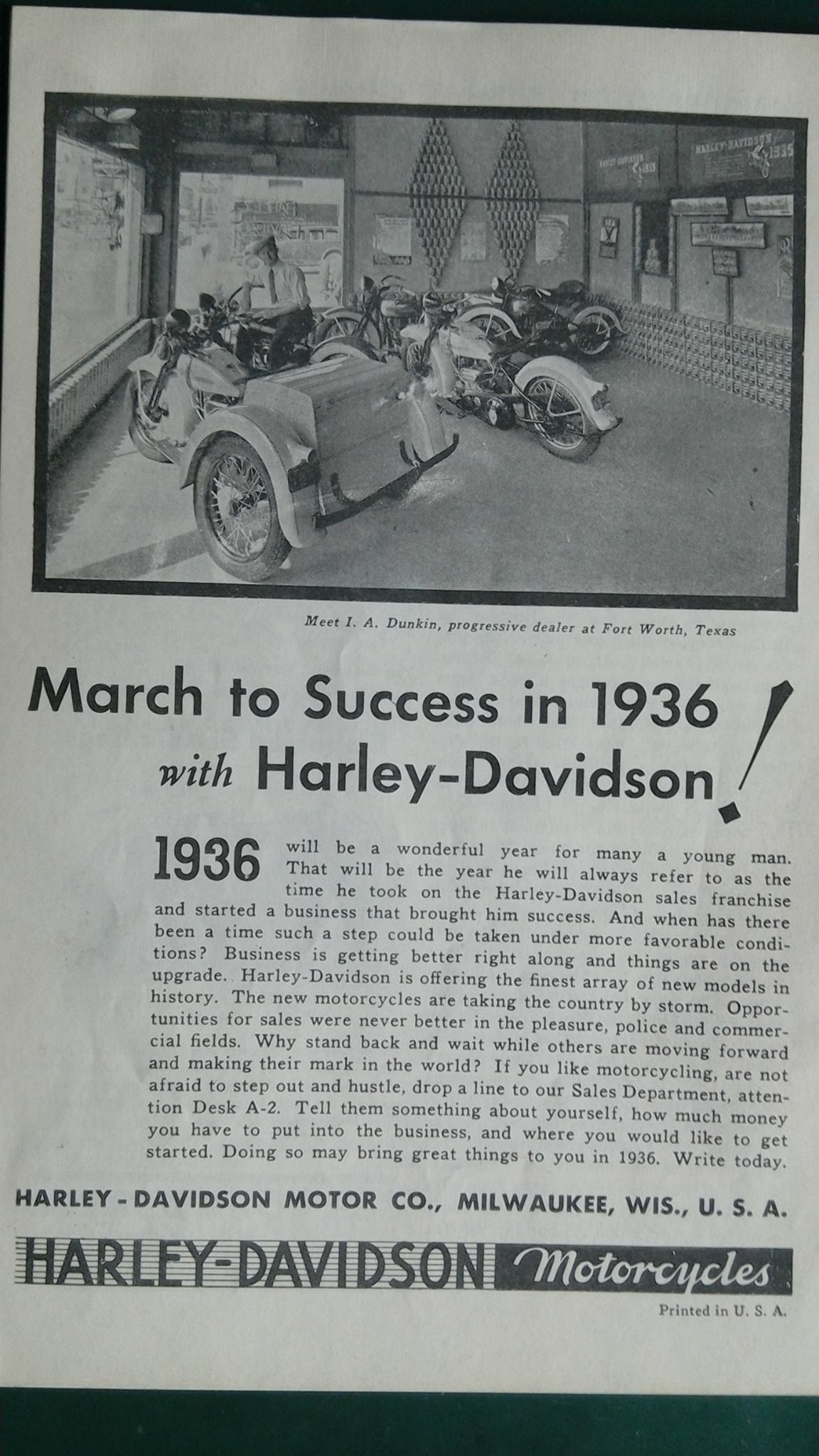 March to success in 1936