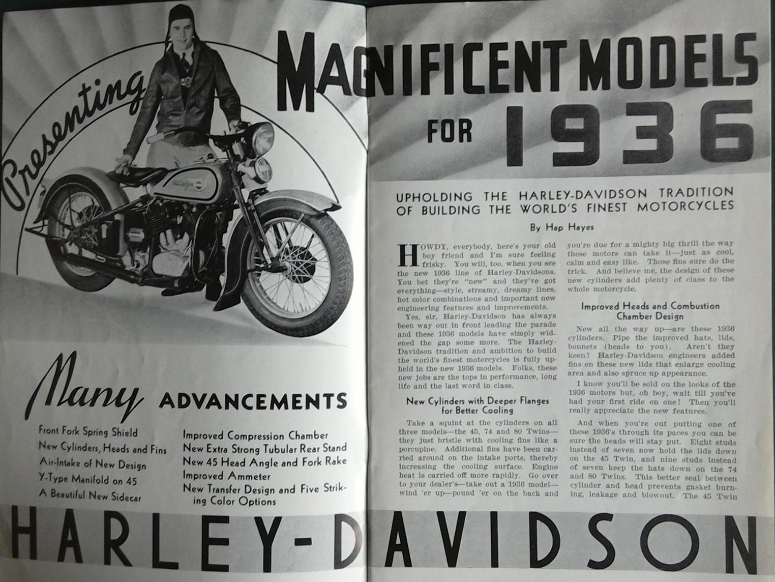 01 - Magnificent models for 1936