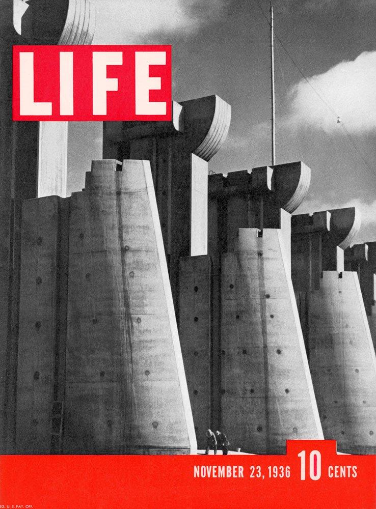 Primer número de la revista LIFE