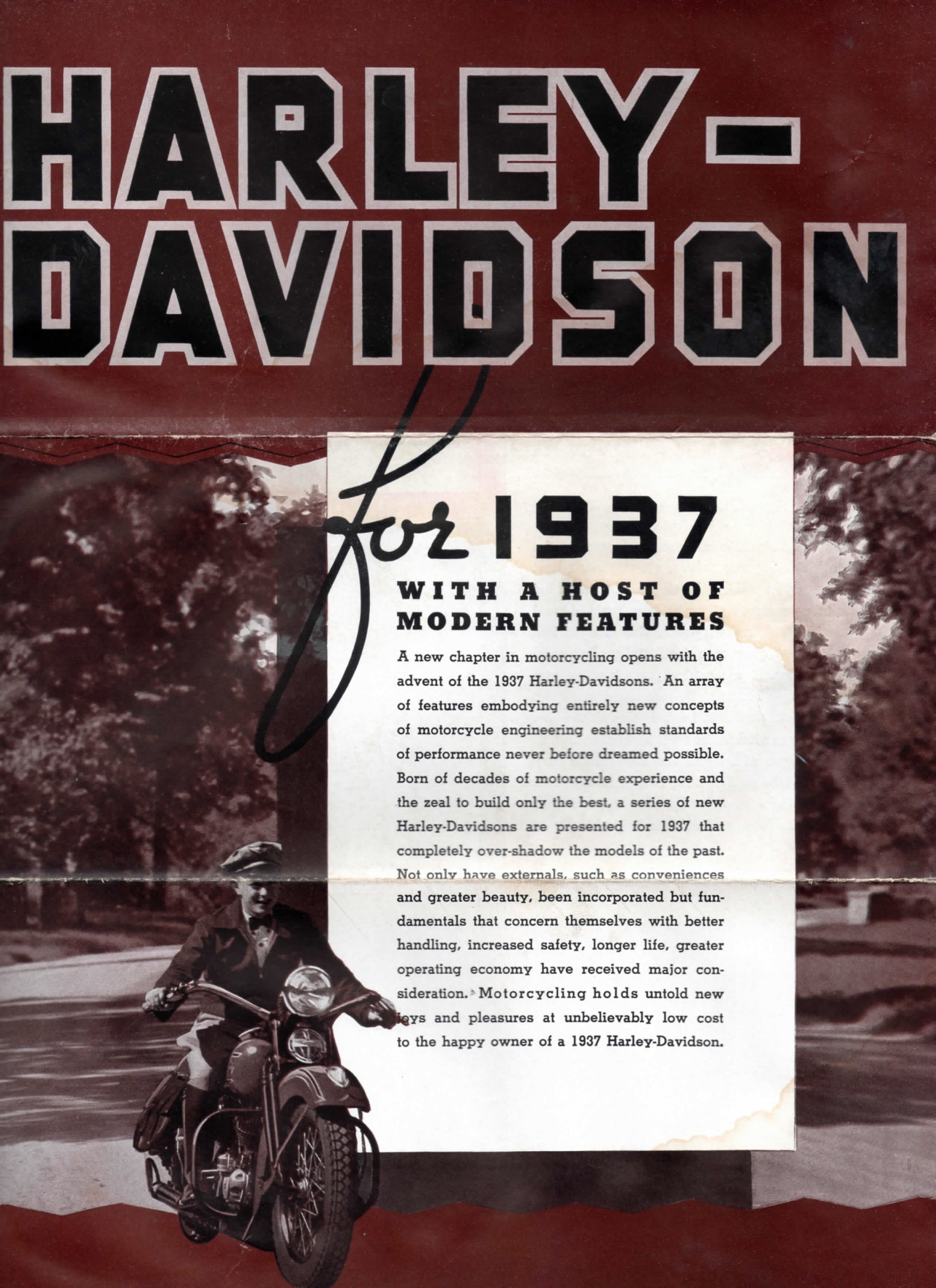 Harley-Davidson for 1937 - 02