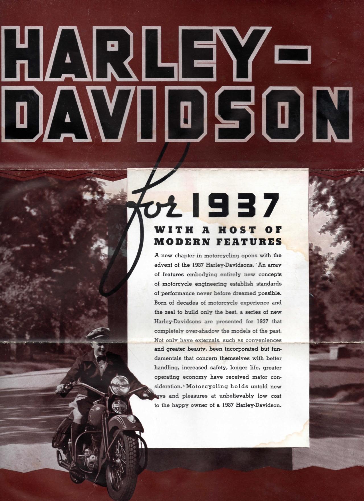 Harley-Davidson for 1937 - 02