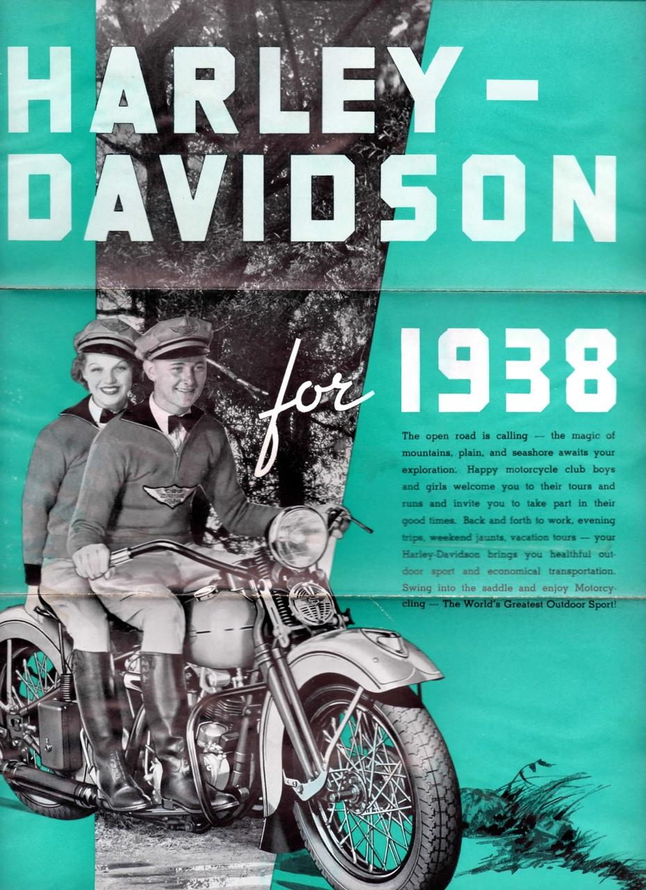 Harley-Davidson for 1938