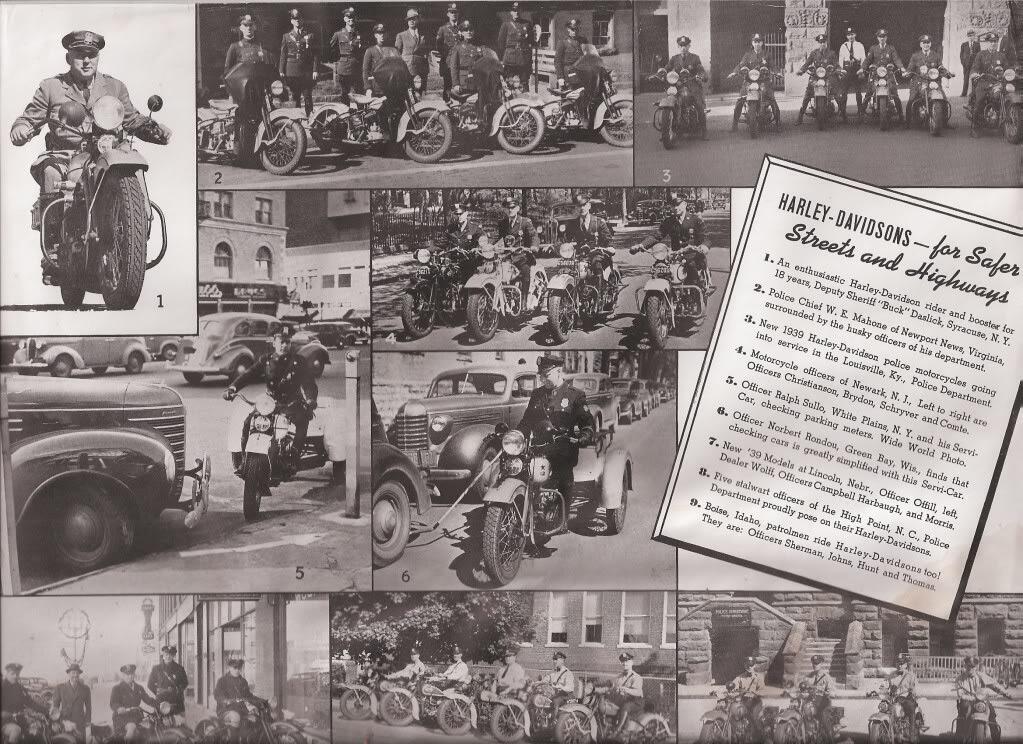 Folleto de policía 1939