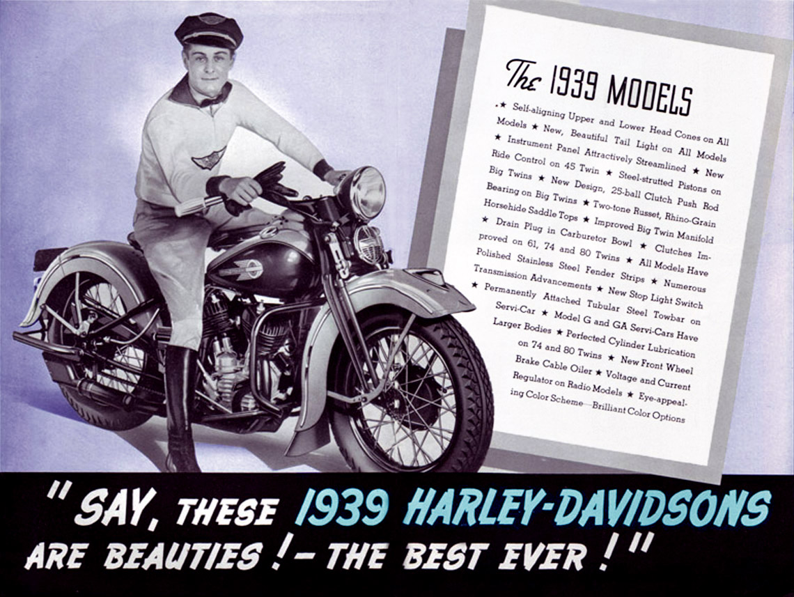 Say, These 1939 Harley-Davidson