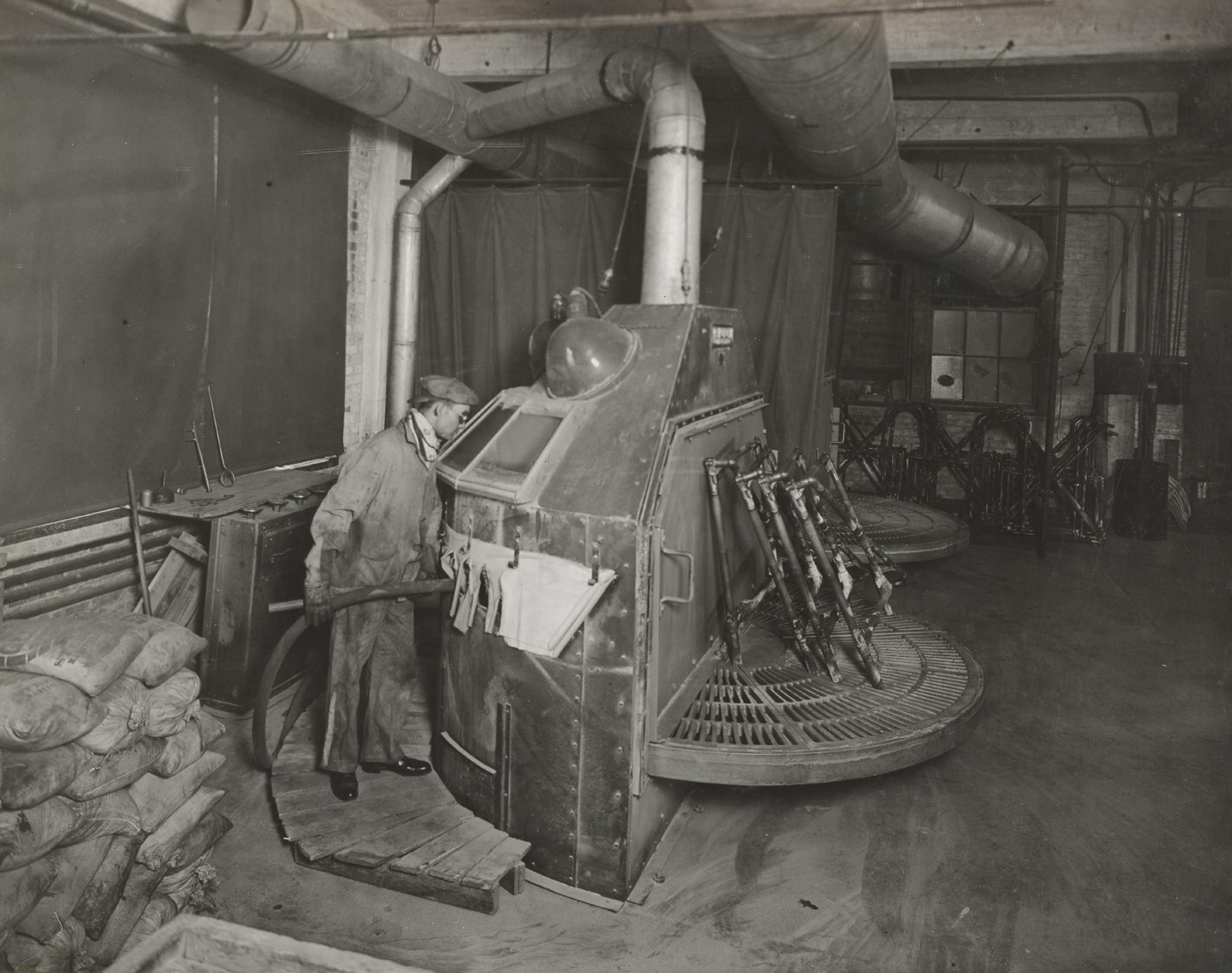 La fabrica harley clasica - Chorreado de arena ...