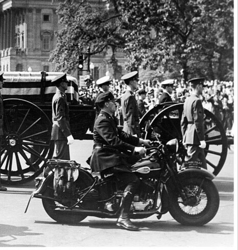 Funeral de Roosevelt