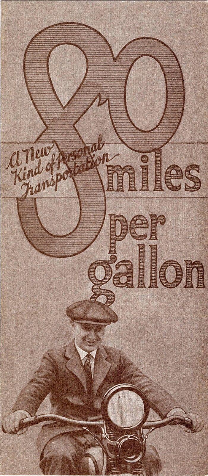 80 miles per gallon