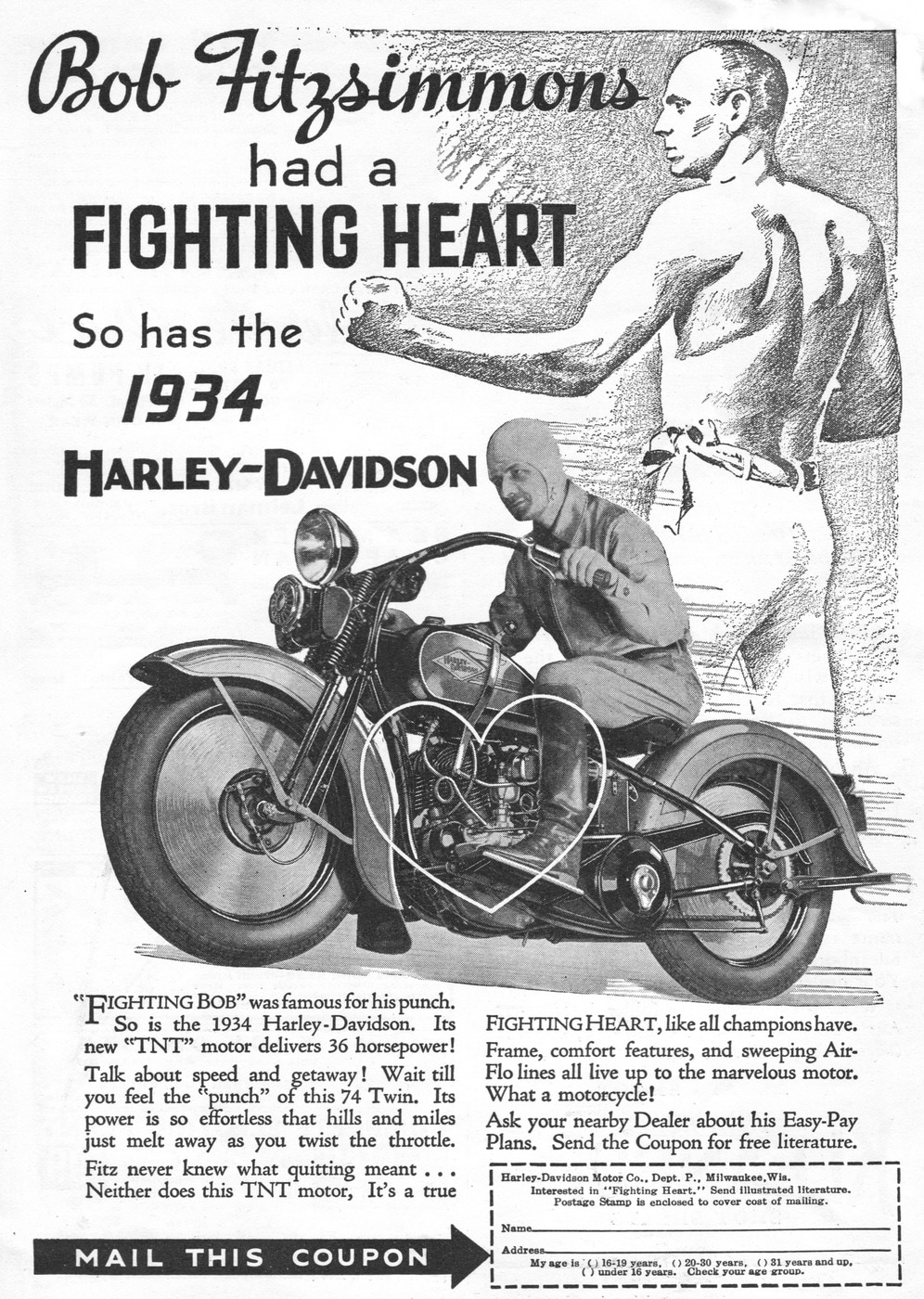 Harley-Davidson with Bob Fitzsimmons