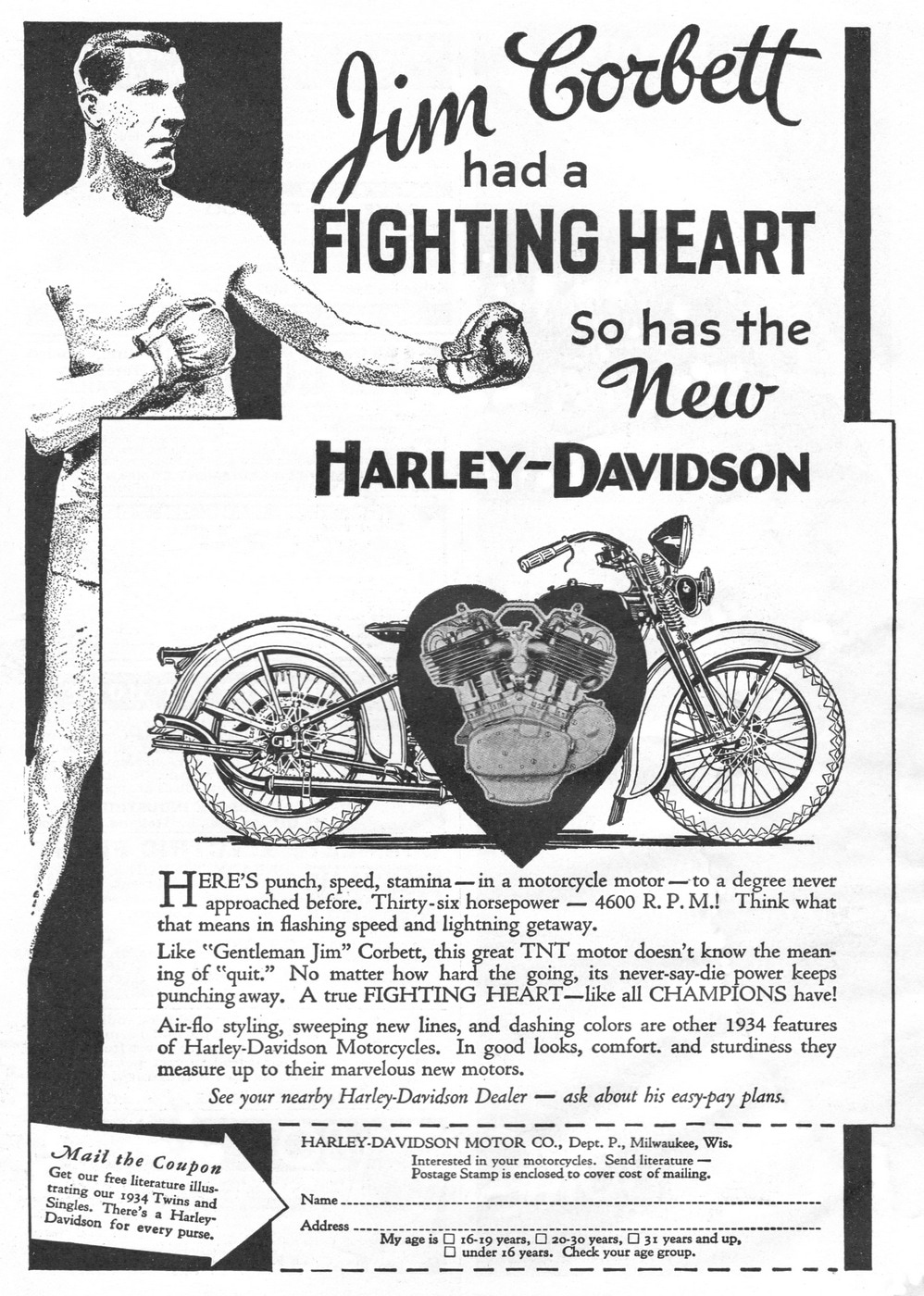 Harley-Davidson with Jim Corbett