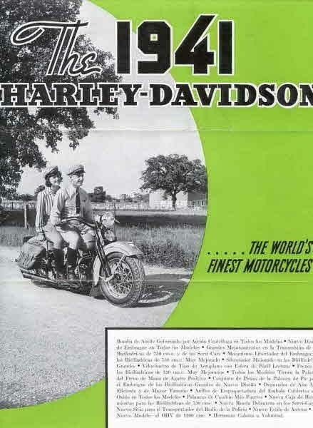 The 1941 Harley-Davidson