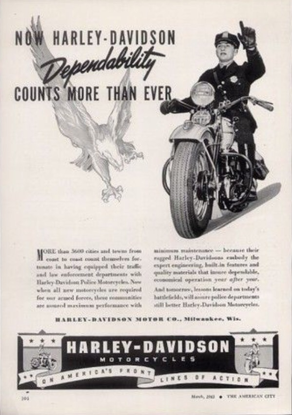 Now Harley-Davidson