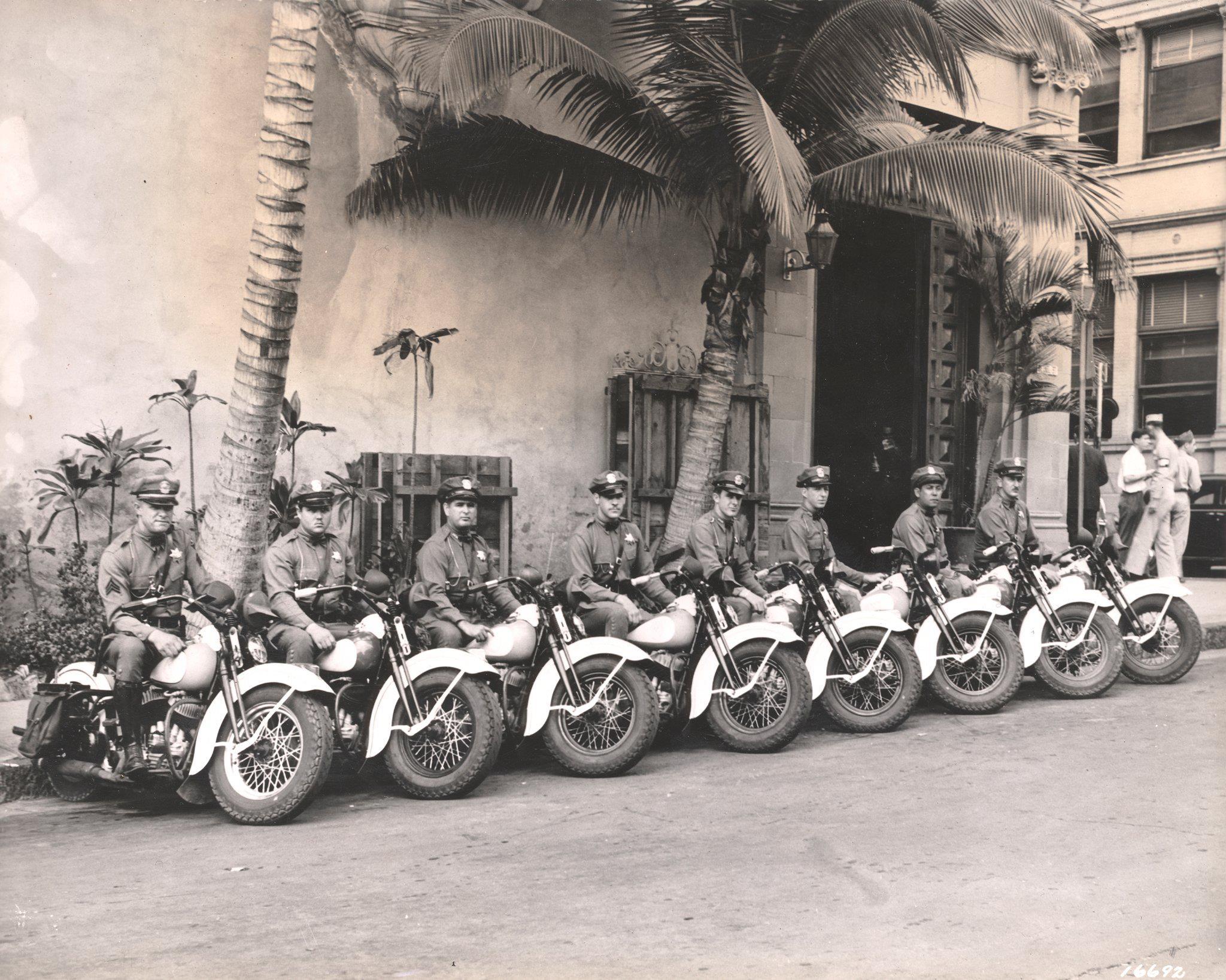 Policia de Honolulu en 1944