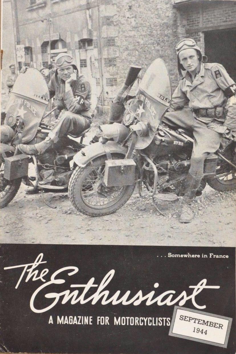 Revista Enthusiast de 1944