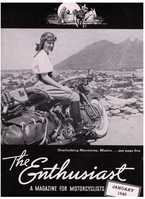 Revista Enthusiast 1945 enero