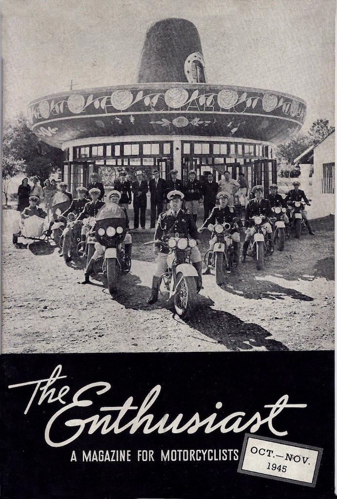 Revista Enthusiast 1945 octubre
