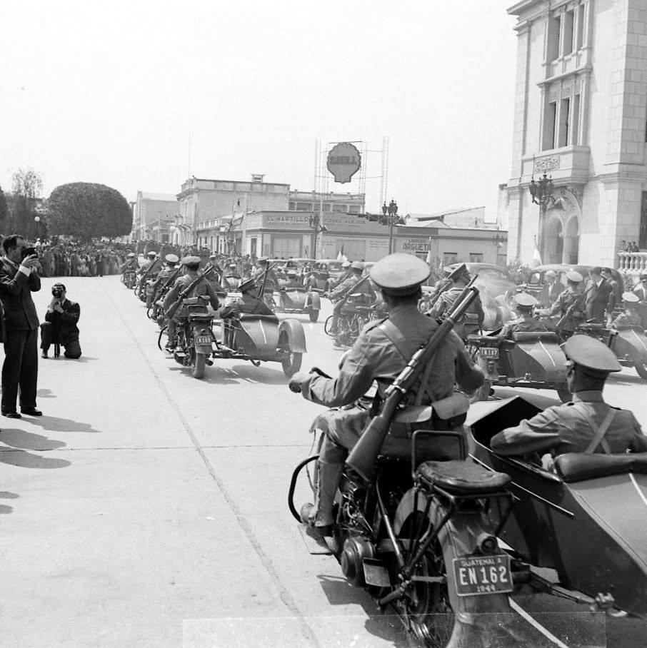 Policia de Guatemala - 1945