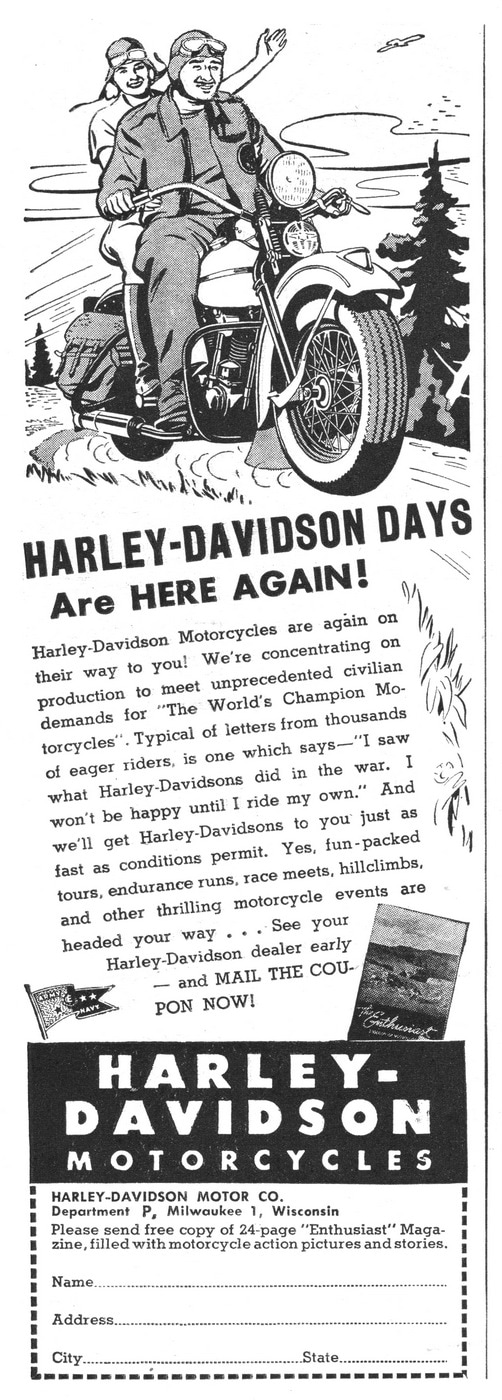 Harley-Davidson Days Back Again
