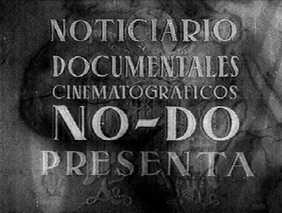 Primera emisión del NO-DO