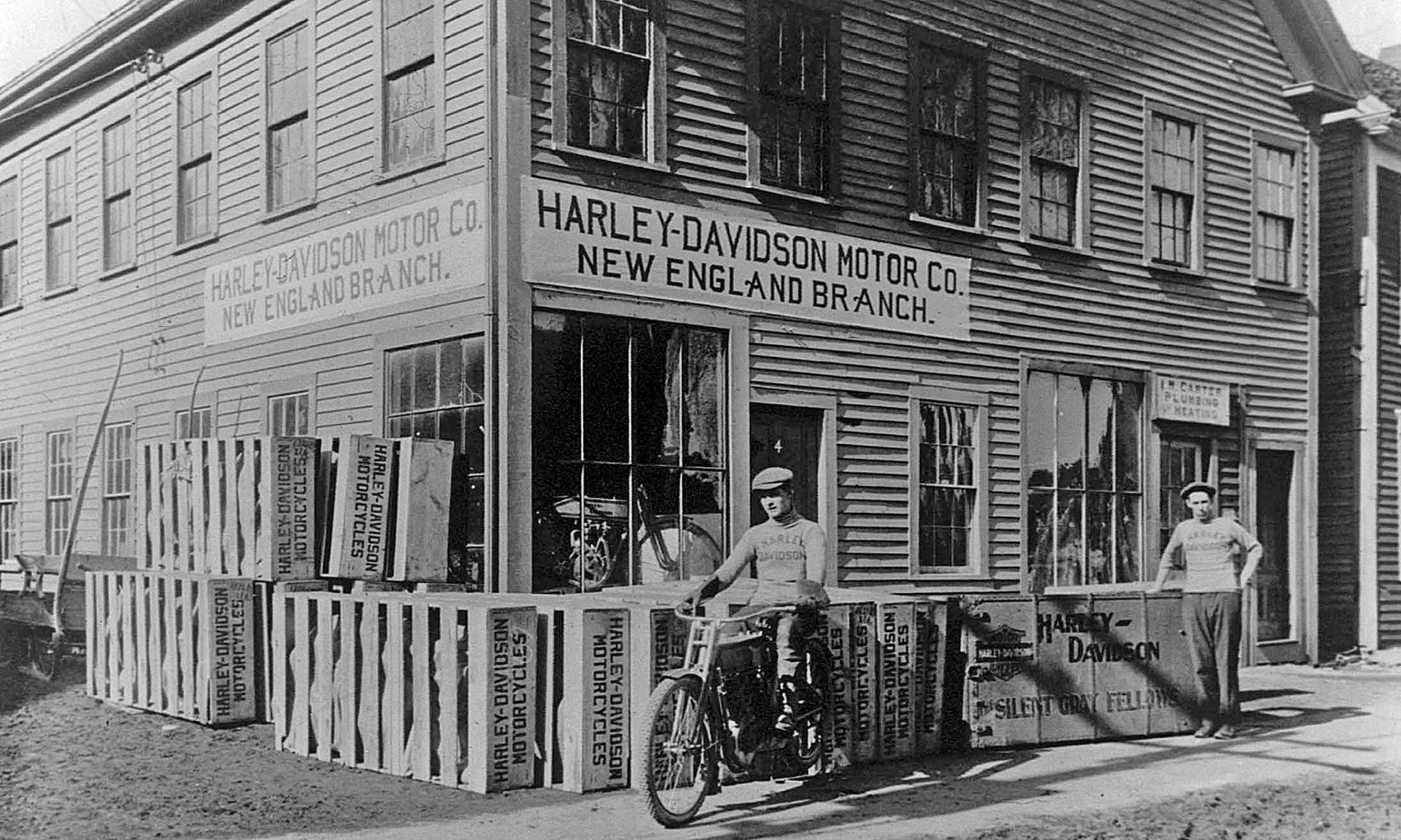Concesionario de George Puls en 1907