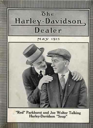 1915 - The Harley-Davidson Dealer